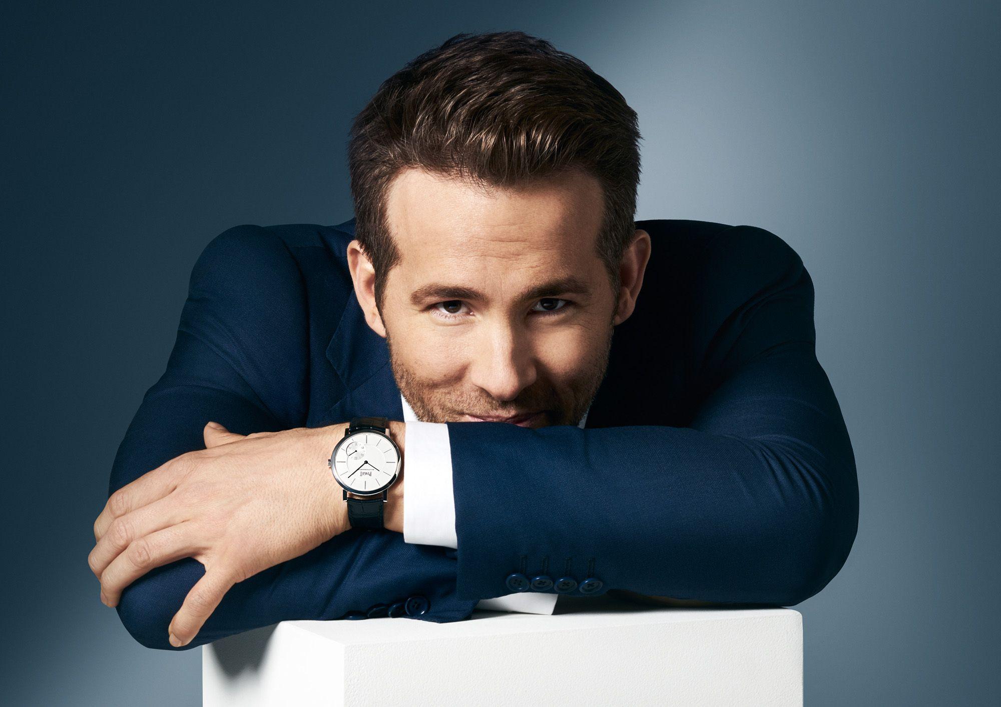 Ryan Reynolds Piaget