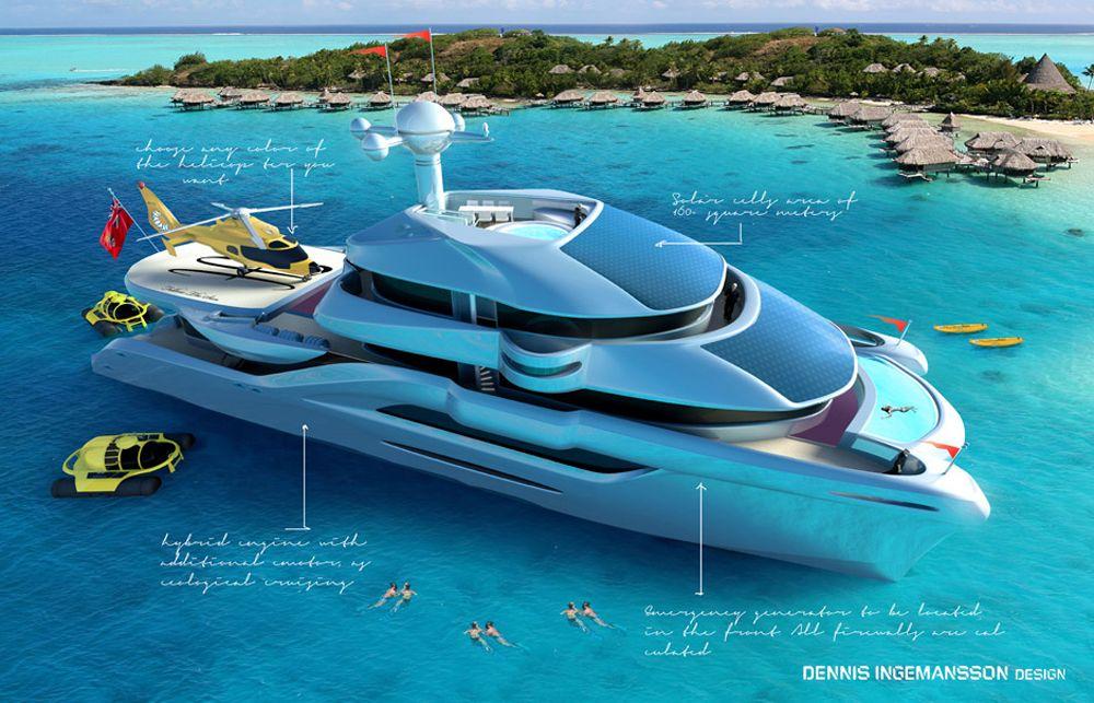Meet The World S Newest Solar Powered Catamaran Yacht