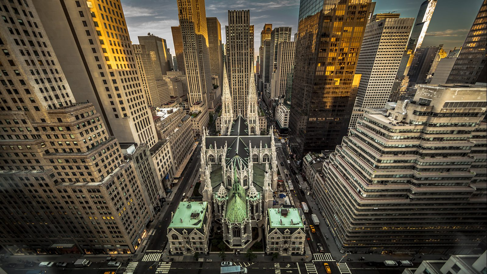 view from New York Palace