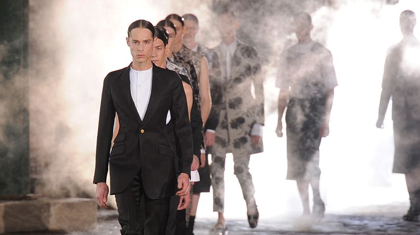 Alexander McQueen Men's Spring 2014 video