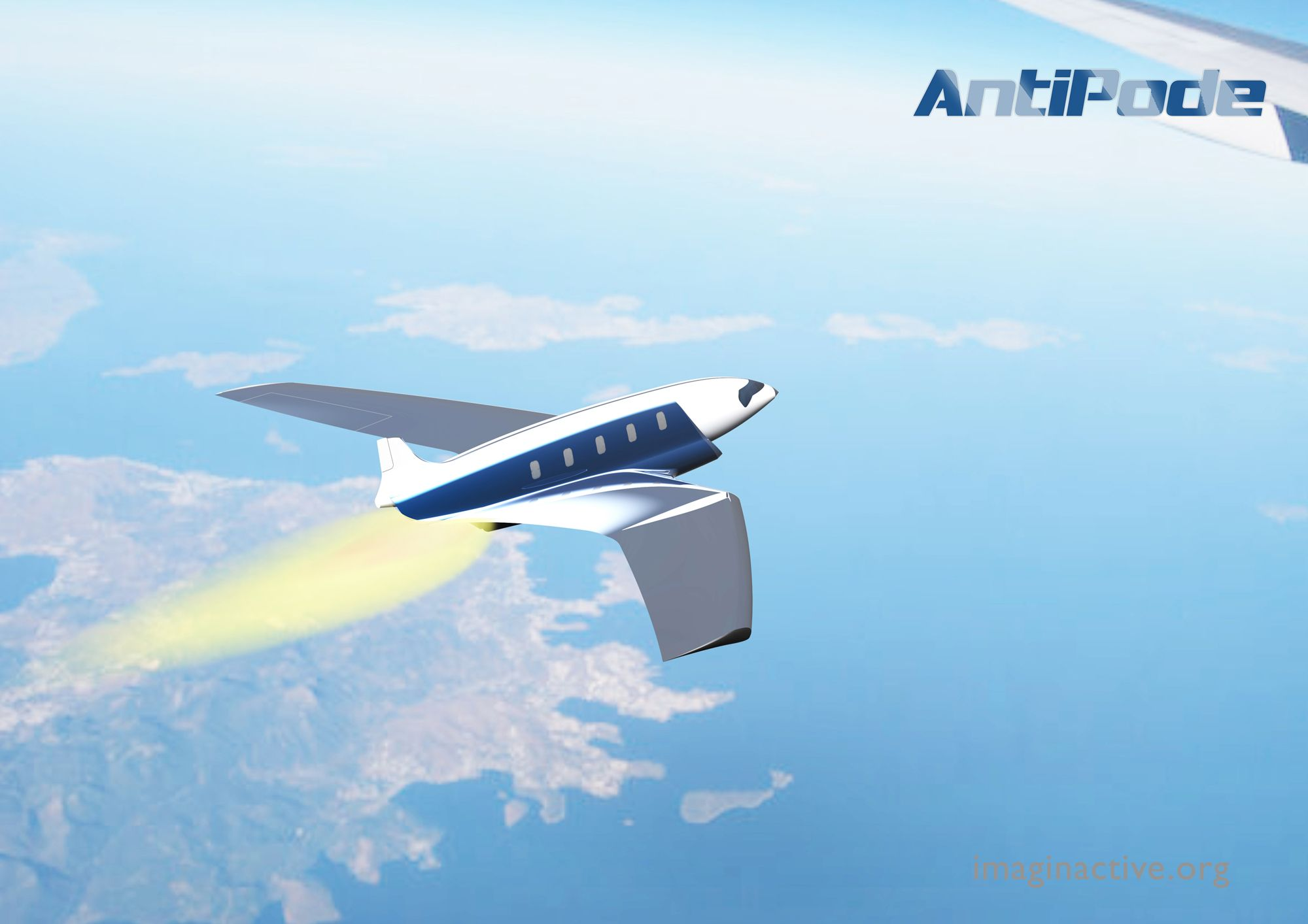 Antipode,hypersonic jet