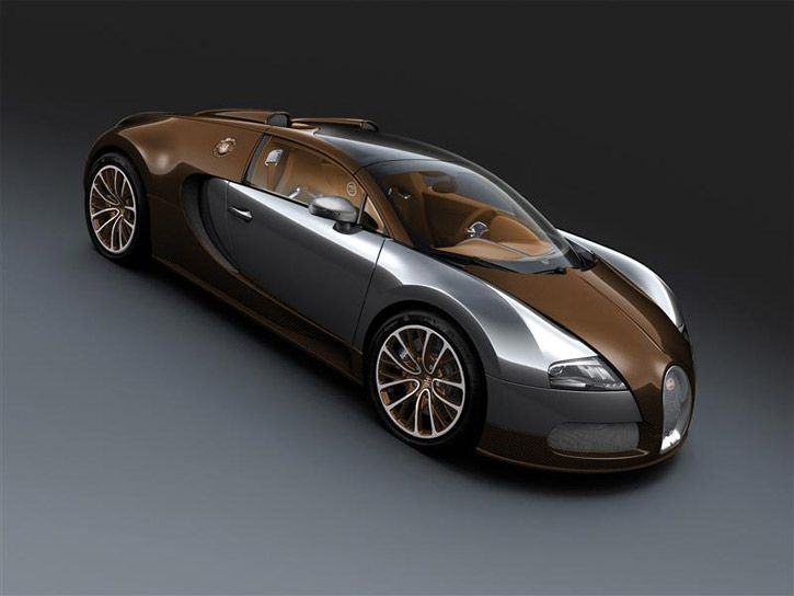 2012 Bugatti Veyron 16.4 Grand Sport Brown Carbon Fiber & Alumi