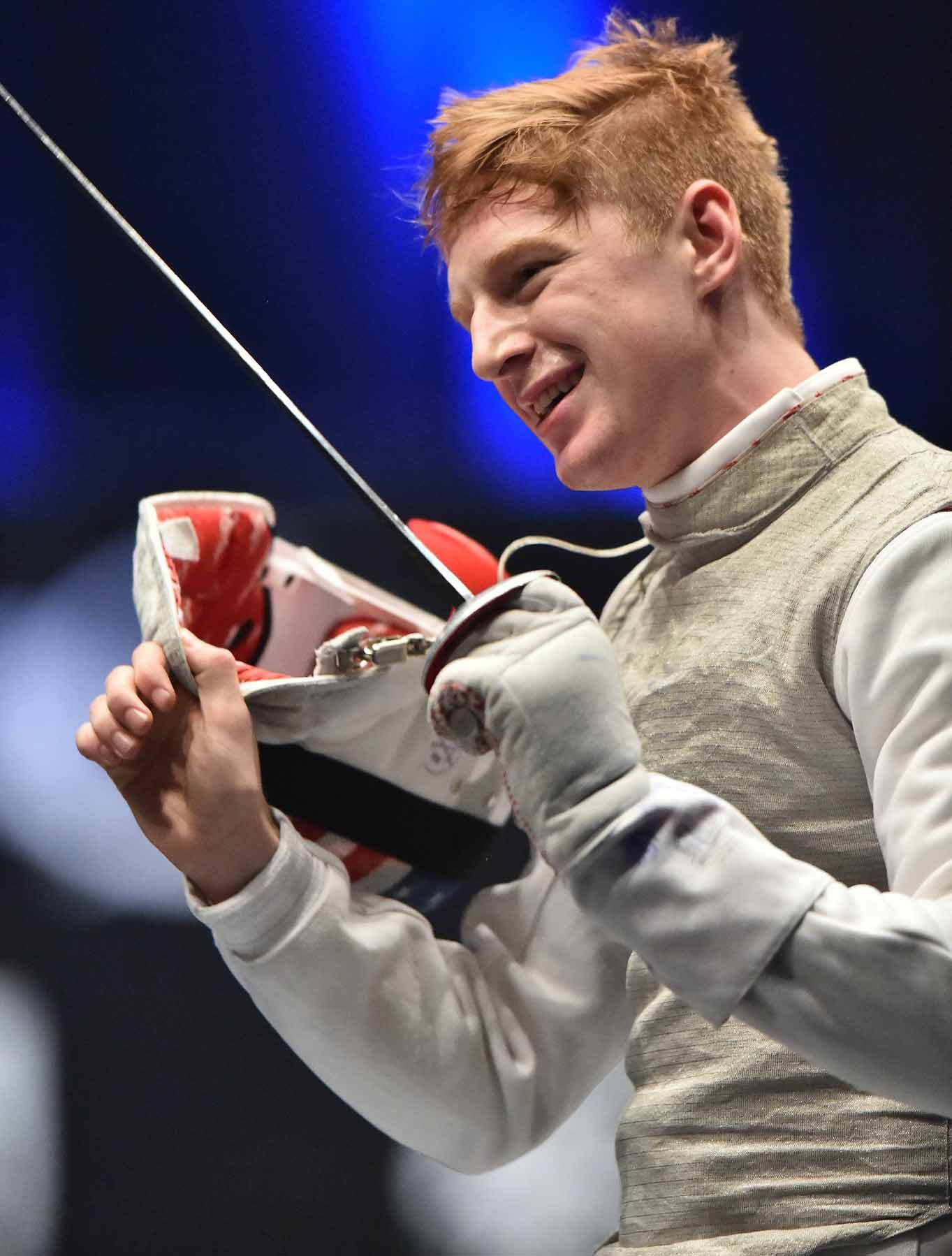 The Face Of Fencing Olympian Race Imboden On Bringing The
