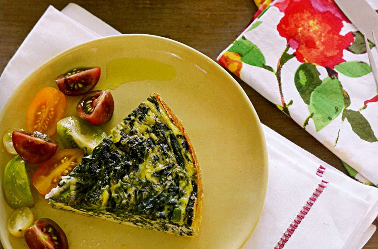 Asparagus, Spinach, And Feta Cheese Frittata Recipes — Dishmaps