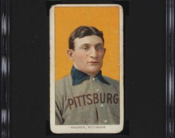 Honus Wagner T-206 Baseball Card