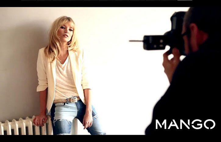 Kate Moss and Mango