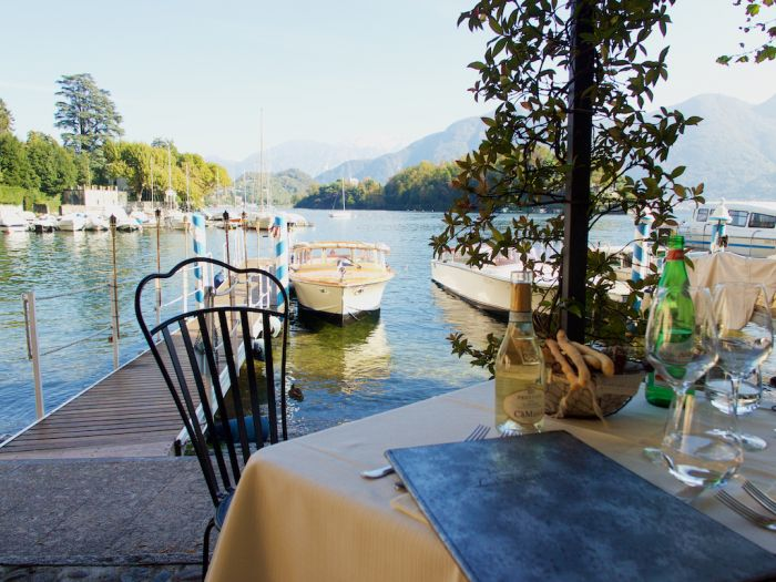 Lake Como Restaurants Food