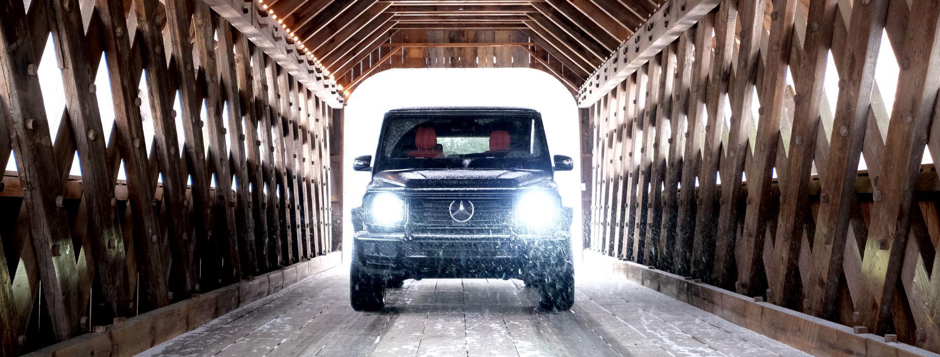 An Appalachian Mountain Tour In The Mercedes G550