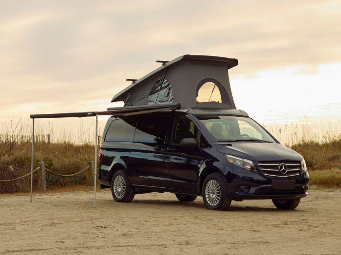 Mercedes-Benz Introduces the Weekender Camper Van