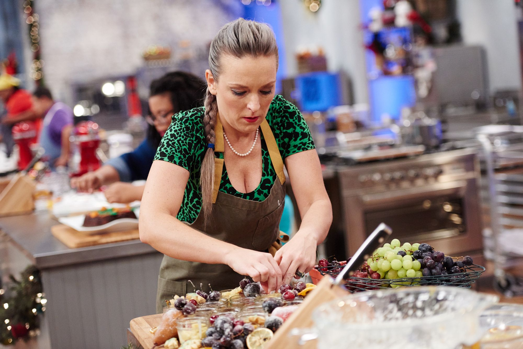 Holiday Baking Championship Contestant Maeve Rochford Gives