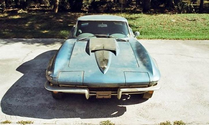 Neil Armstrong 1967 Corvette
