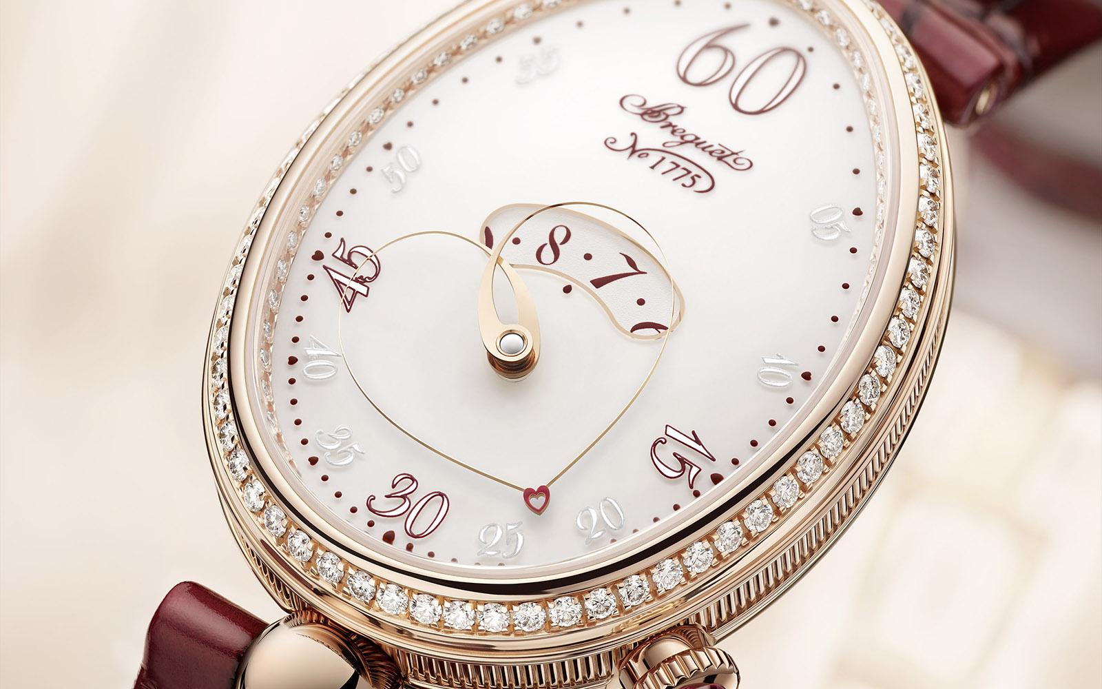 Breguetâs Latest Reine de Naples Watch Counts Minutes with a Beating Heart post thumbnail image
