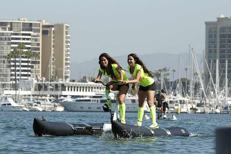 Hold Your Own Amazing Race With The Schiller S1 Water Bike