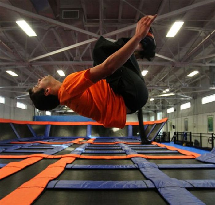 Sky Zone Indoor Trampoline Park Takes Boston To New Heights