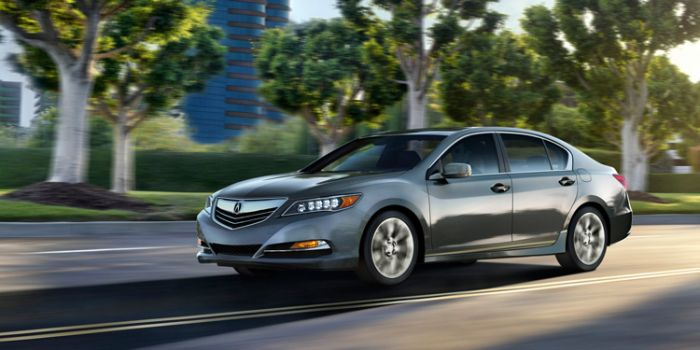 acura rlx driving review
