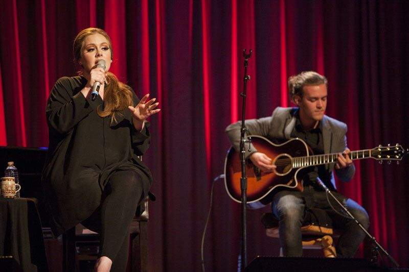 adele live from the artists den