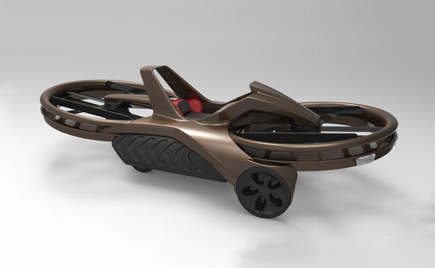 Aero-X hover bike