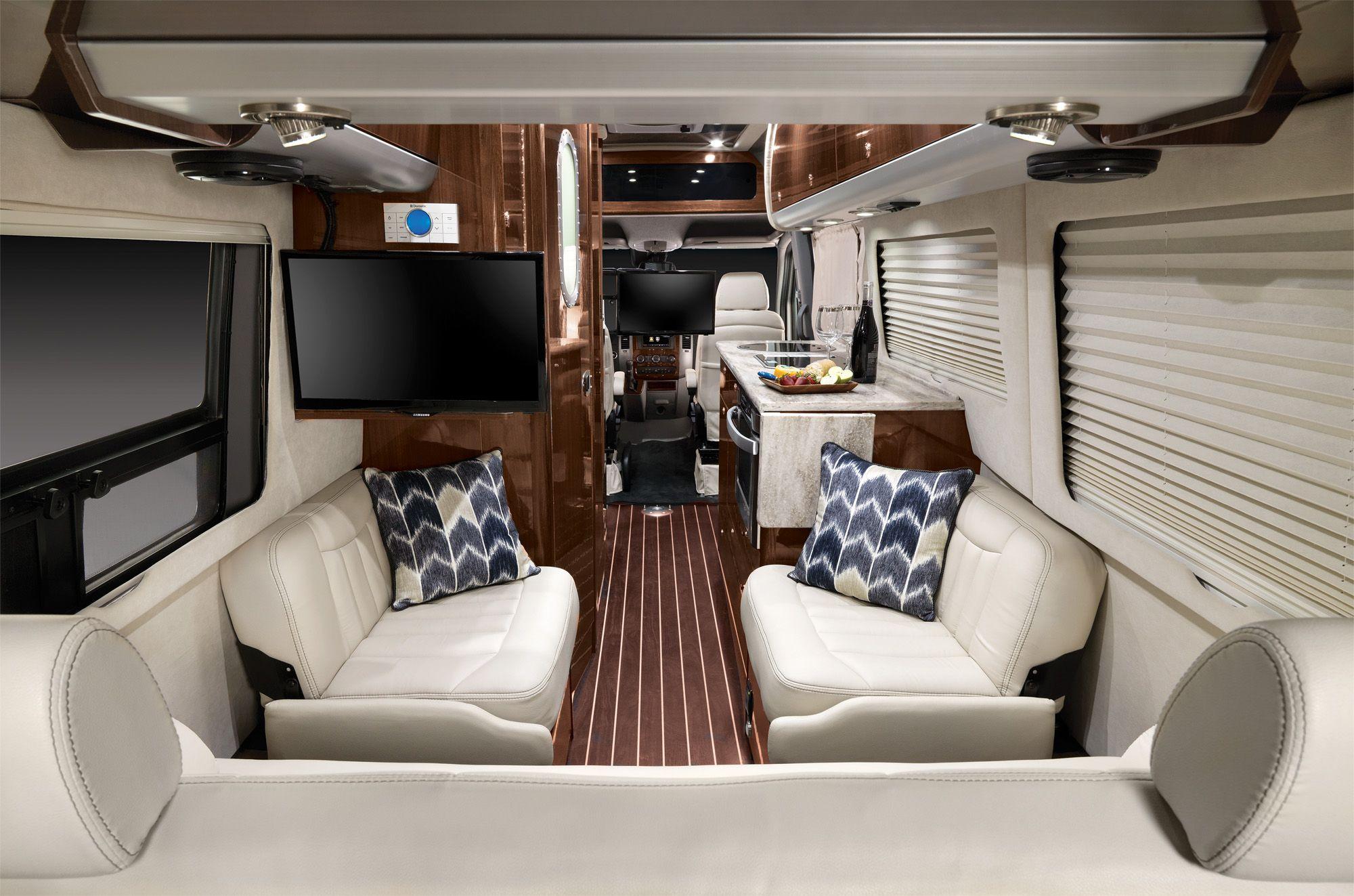 Airstream Announces New 24 Foot Mercedes Touring Coach