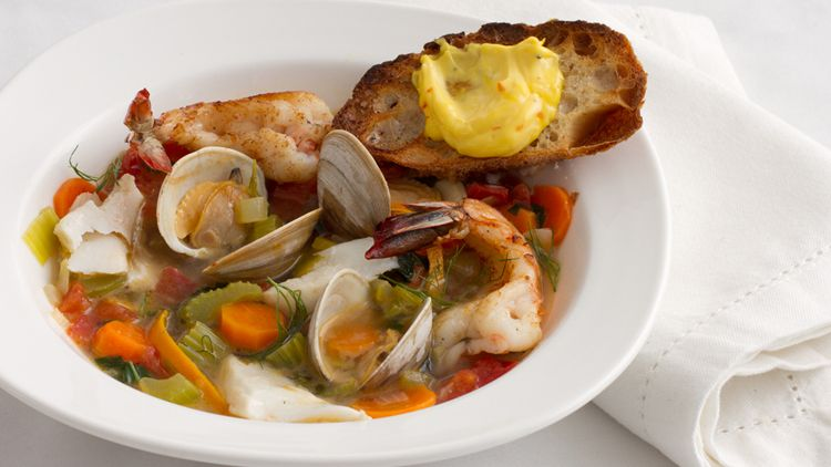 Alabama Bouillabaisse recipe