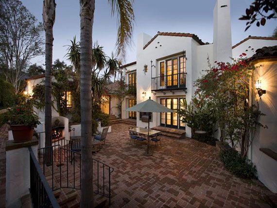 Montecito million mansion be al gore 39 s new neighbor for Spanish villa house