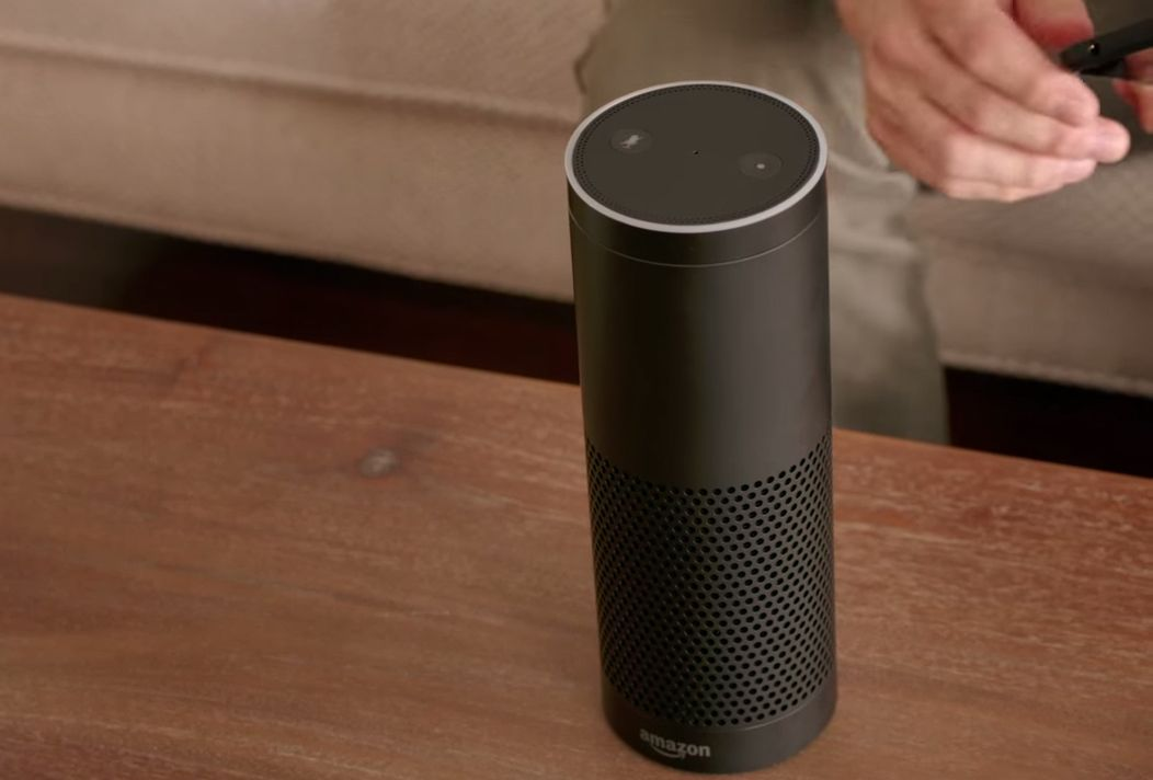 Amazon echo, speaker