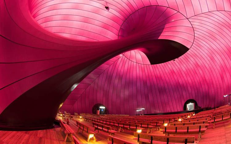 inflatable concert hall ark nova