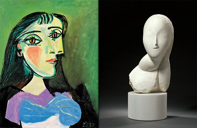 monet and picasso auction