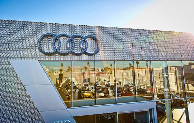 los angeles audi showroom