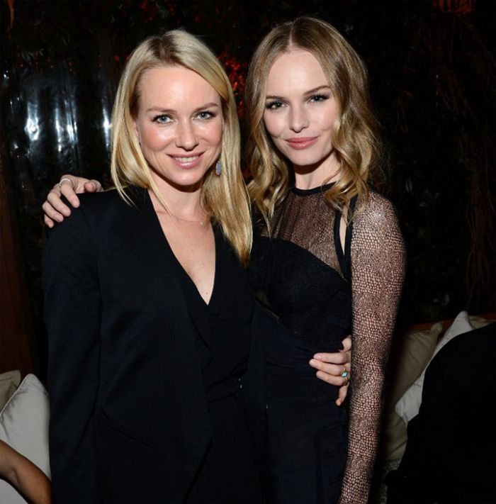 Naomi Watts and Kate Bosworth at the 2013 Audi Golden Globes Pr