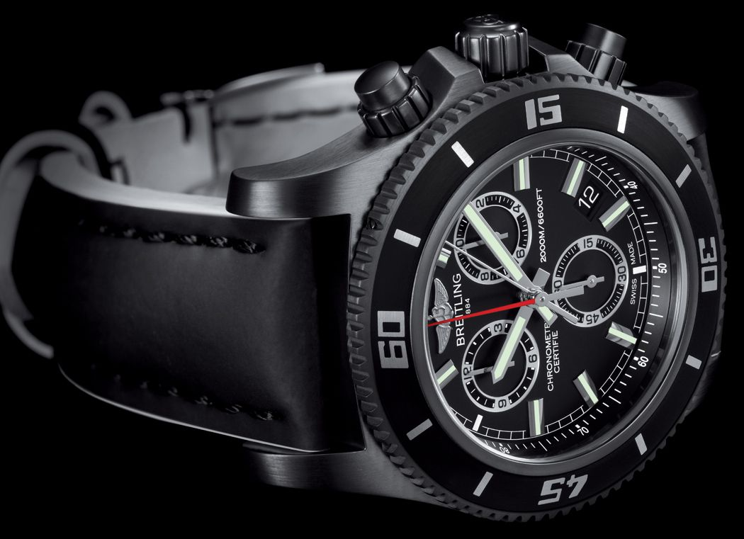 Superocean Chronograph M2000 Blacksteel