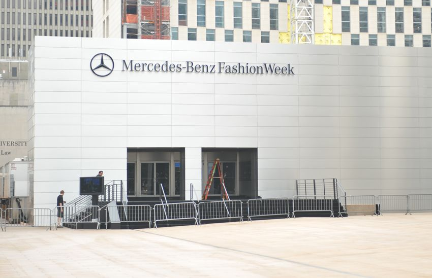 New York Fashion Week Lincoln Center