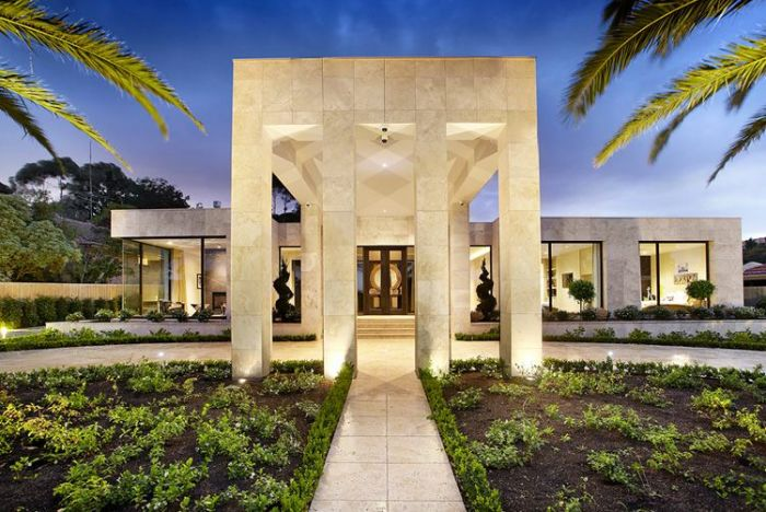 Bagnato Architects mansion australia