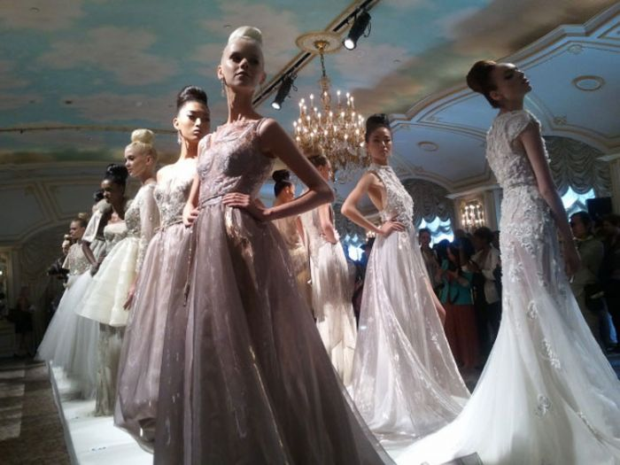 Dennis Basso New York Fashion 2013 Week Runway Show