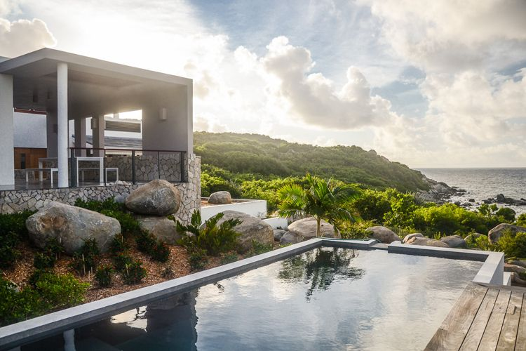 Bayhouse Villa Brings Modern Design To The Caribbean
