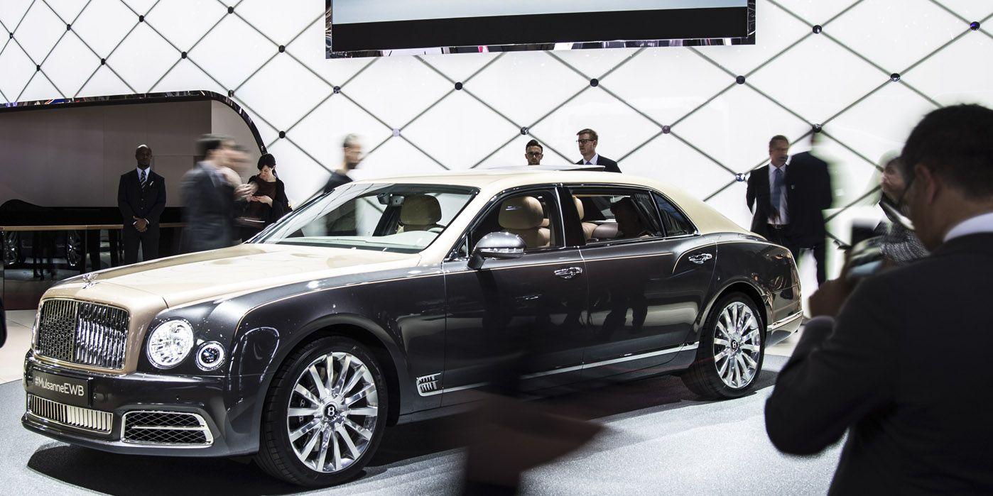 Bentley mulsanne grand limousine