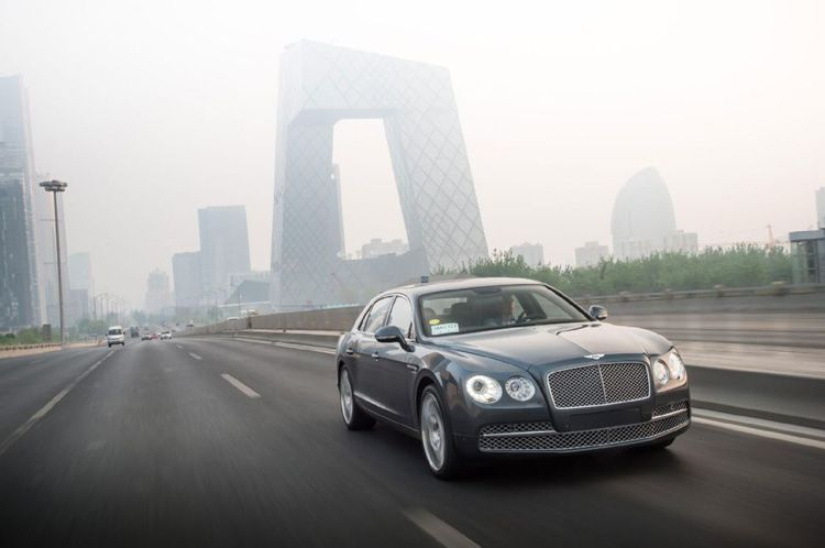 Bentley Flying Spur driving review
