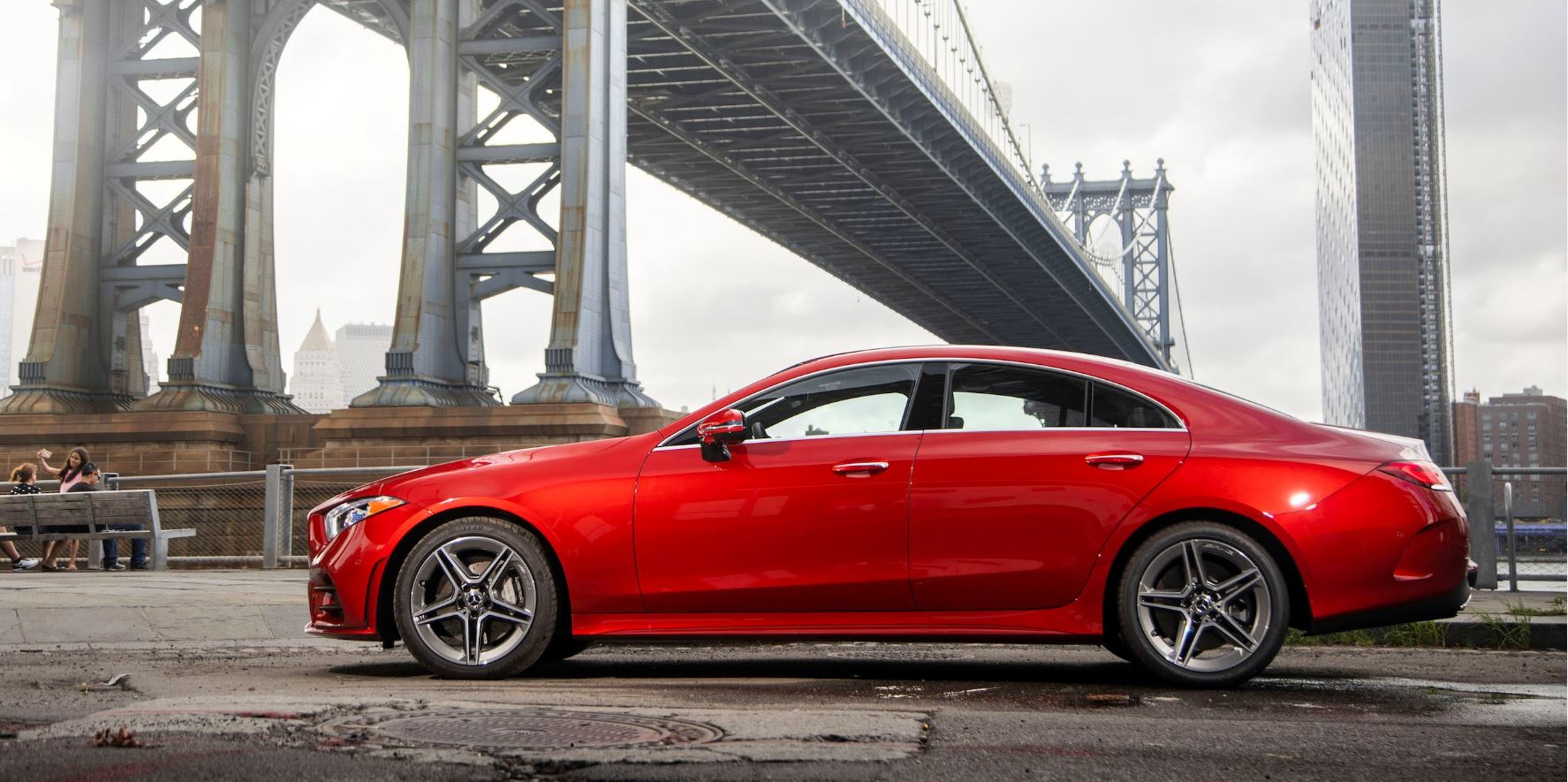 Escaping From New York In The Sleek And Stylish New 2019 Mercedes Benz CLS