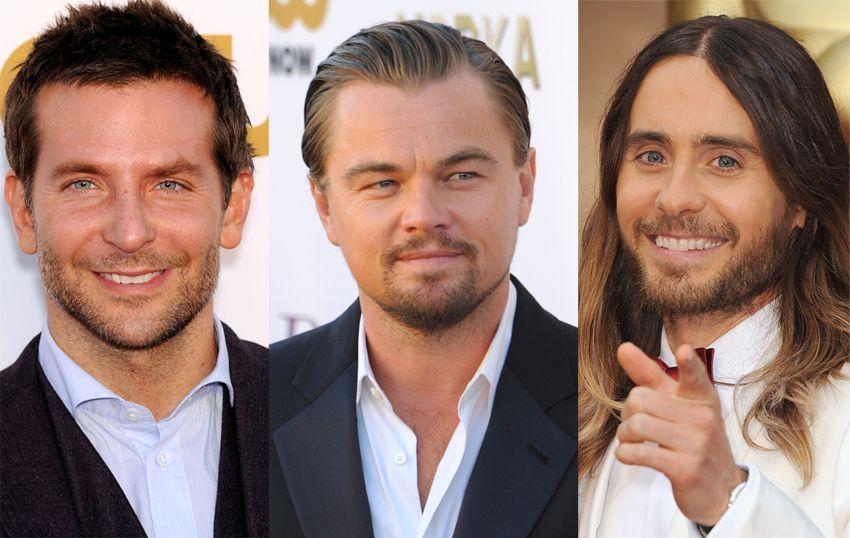 Cooper, DiCaprio, Leto