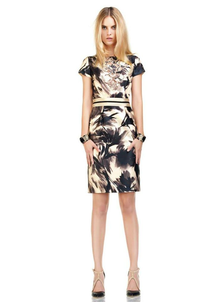 Blumarine Abstract Flower Collection Brings Back Classic Black and White