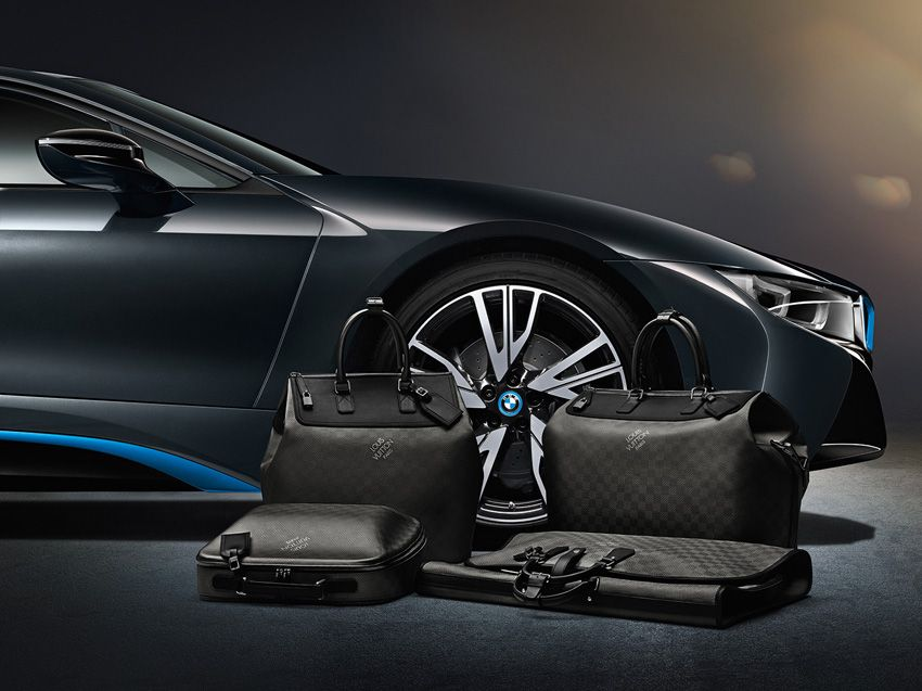 Louis Vuitton, BMW Luggage