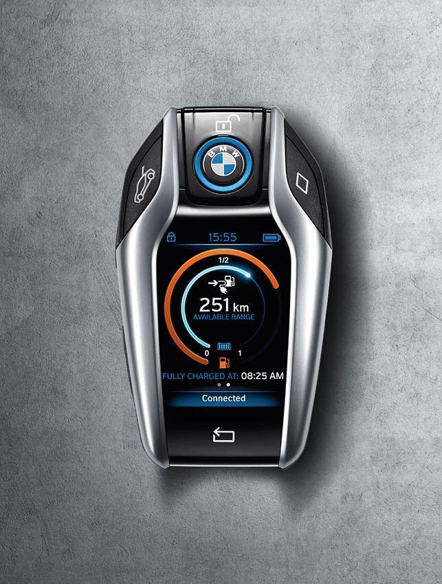 BMW i8 LCD Key