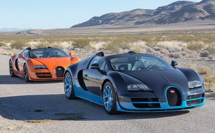 Pre-Owned bugatti Veyrons