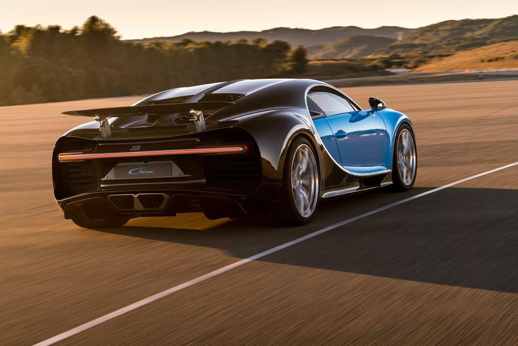 Bugatti Reveals the Insane Chiron Ahead of Geneva Motor Show