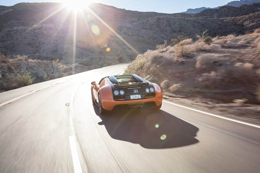 Bugatti Dynamic Drive Experience Veyron Grand Sport Vitesse