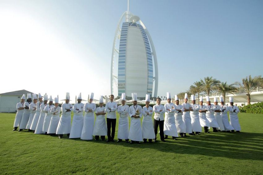Burj Al Arab charity dinner dubai