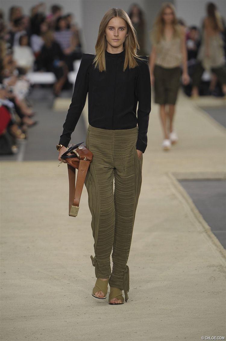 Chloé RTW during Paris Fashion Week
