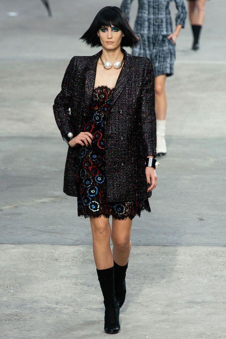 Chanel Runway Show during Paris Fashion Week