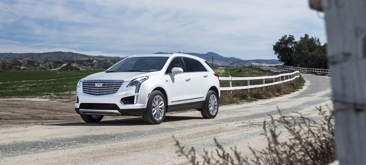 Driving the All-New 2017 Cadillac XT5 Platinum AWD