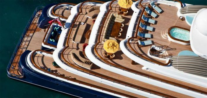 Sylvester Stallone Rules the Seas in St. Bart's Aboard $215 Mil