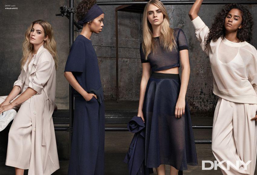 DKNY cara delevingne